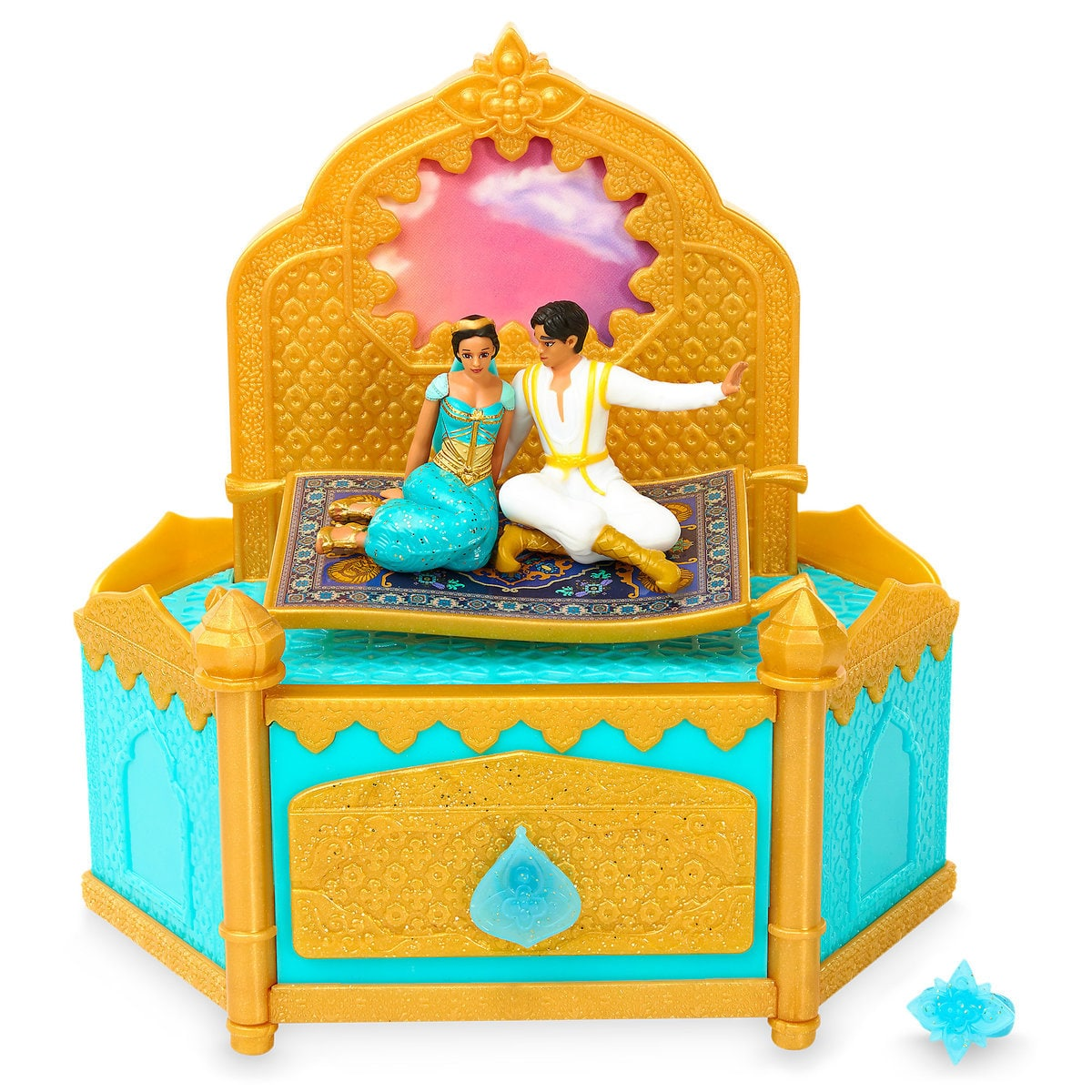 I can show you the world with this Aladdin jewelry box for kids | Top 25 Disney Gift Ideas for Toddlers featured by top US Disney blogger, Marcie and the Mouse