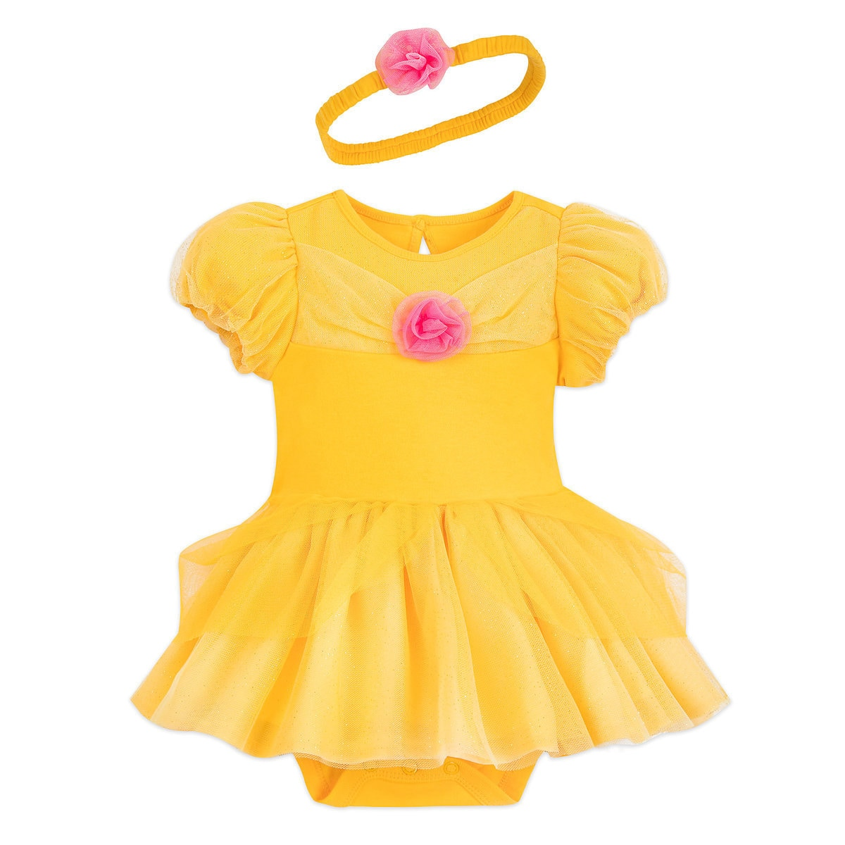 Top 25 Disney Gift Ideas for Babies featured by top US Disney blogger, Marcie and the Mouse: How cute is this Belle costumes for babies