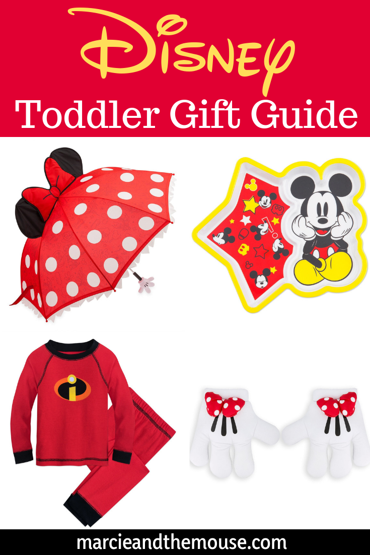 Find out the best Disney gifts for toddlers in this Disney gift guide for 2 year olds and 3 year olds. #disney #giftguide | Top 25 Disney Gift Ideas for Toddlers featured by top US Disney blogger, Marcie and the Mouse