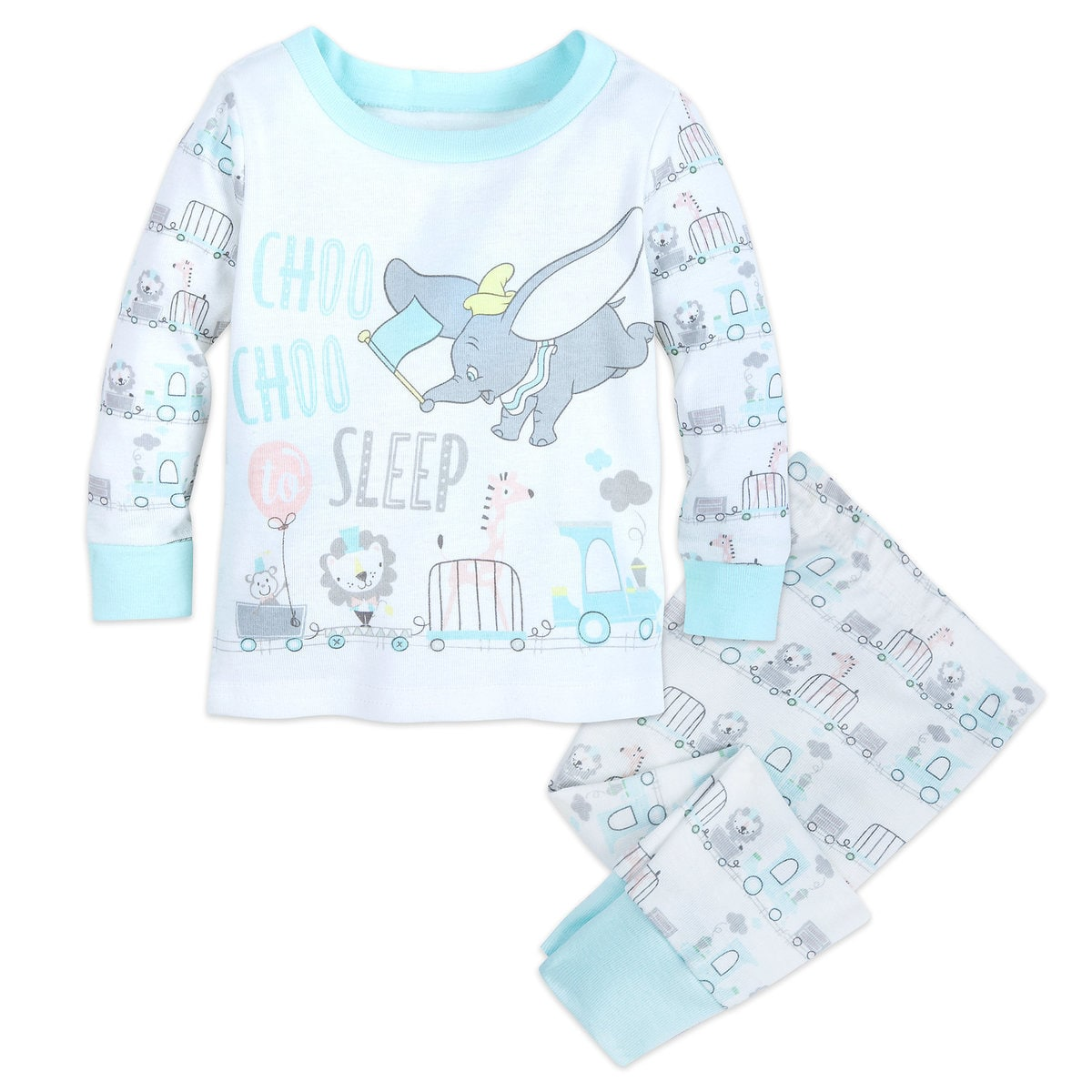 Top 25 Disney Gift Ideas for Babies featured by top US Disney blogger, Marcie and the Mouse: These Dumbo pajamas are perfect for babies