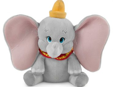 Top 25 Disney Gift Ideas for Babies featured by top US Disney blogger, Marcie and the Mouse: image of Dumbo plush for babies