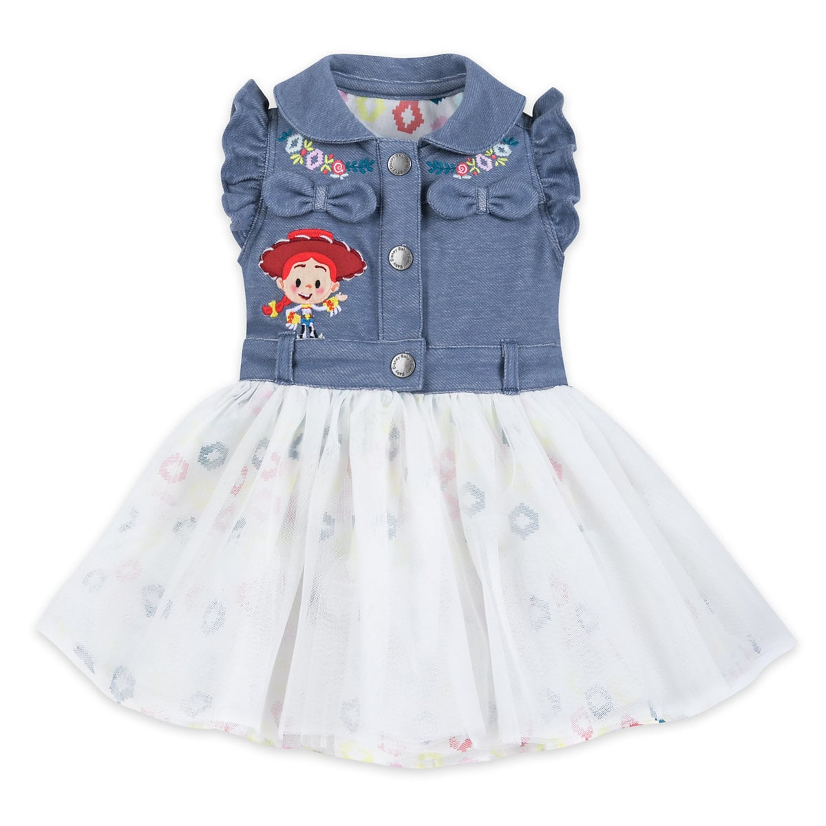 Top 25 Disney Gift Ideas for Babies featured by top US Disney blogger, Marcie and the Mouse: This Toy Story dress for babies is adorable