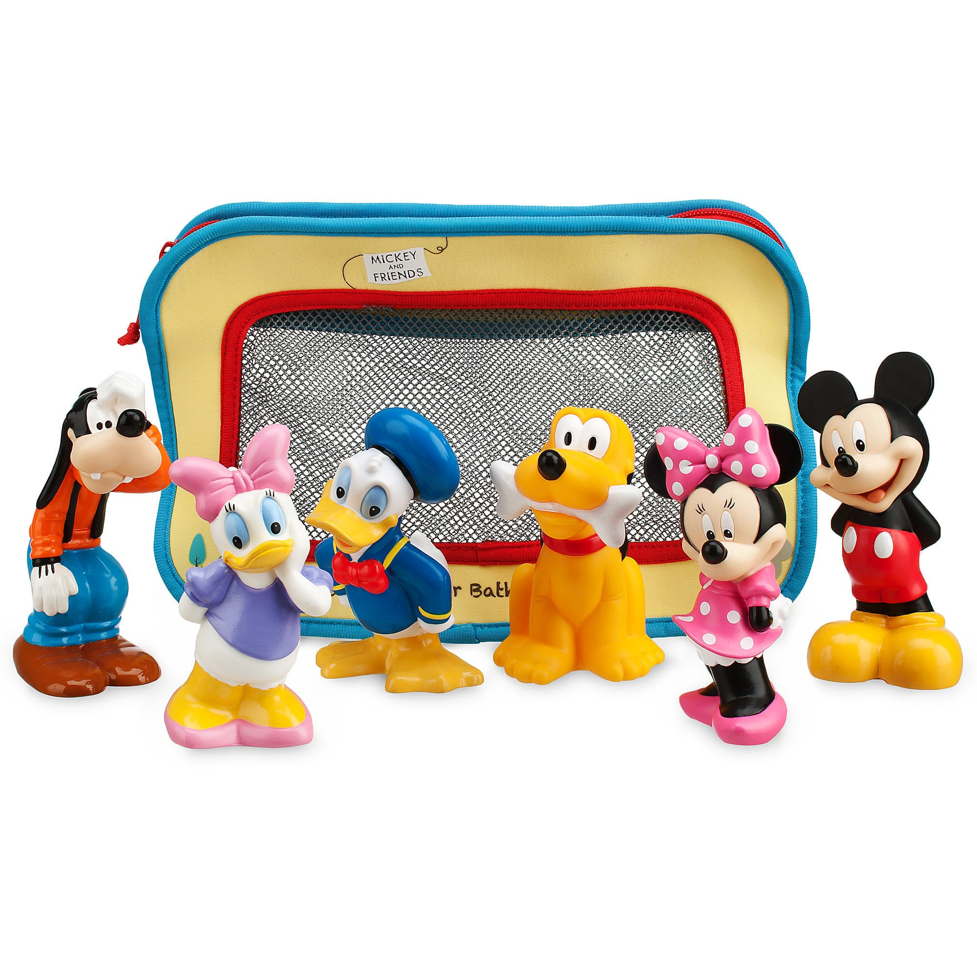 Toddlers and preschoolers will love these Mickey Mouse bath toys | Top 25 Disney Gift Ideas for Toddlers featured by top US Disney blogger, Marcie and the Mouse