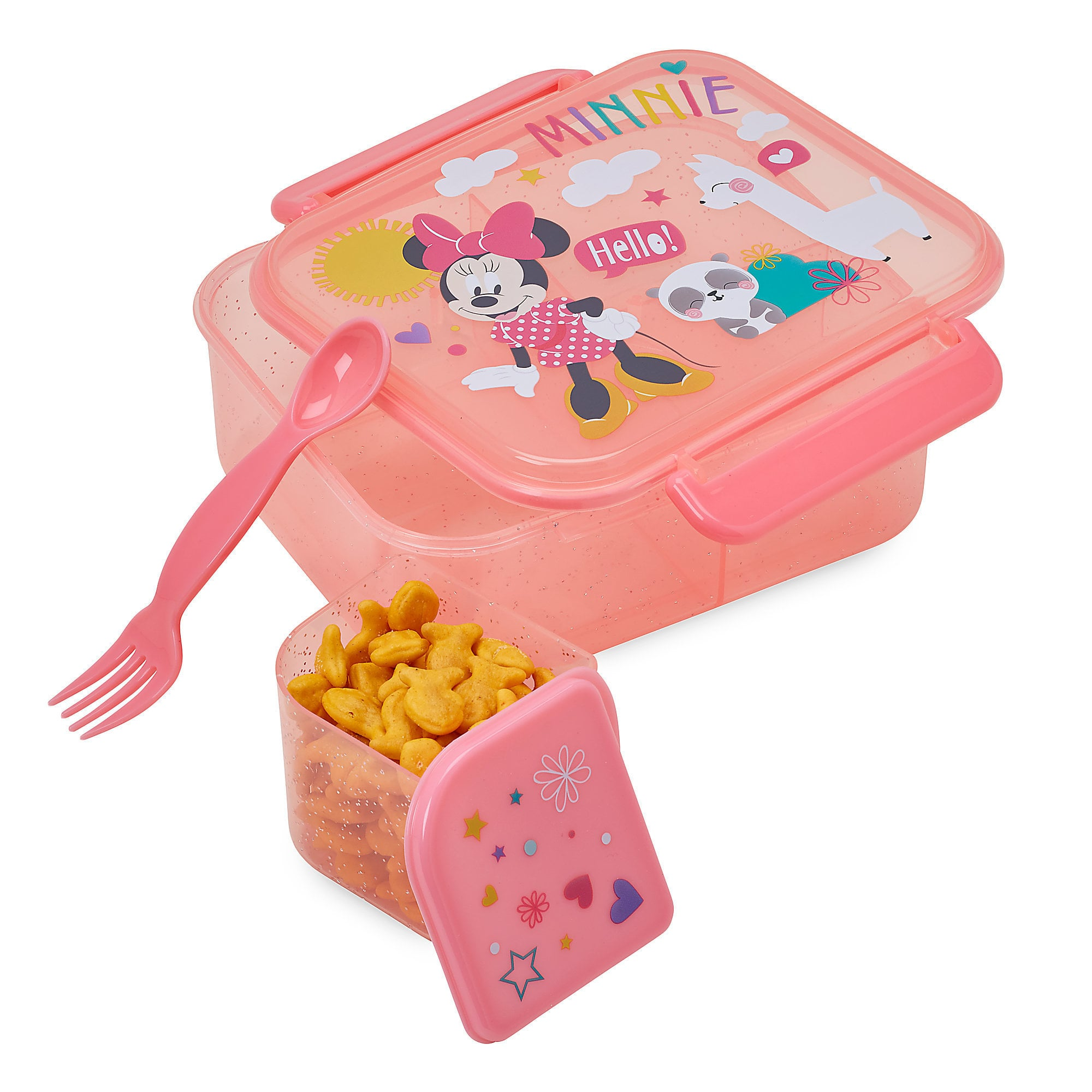 This Minnie Mouse food storage set is perfect for Disneyland with kids | Top 25 Disney Gift Ideas for Toddlers featured by top US Disney blogger, Marcie and the Mouse