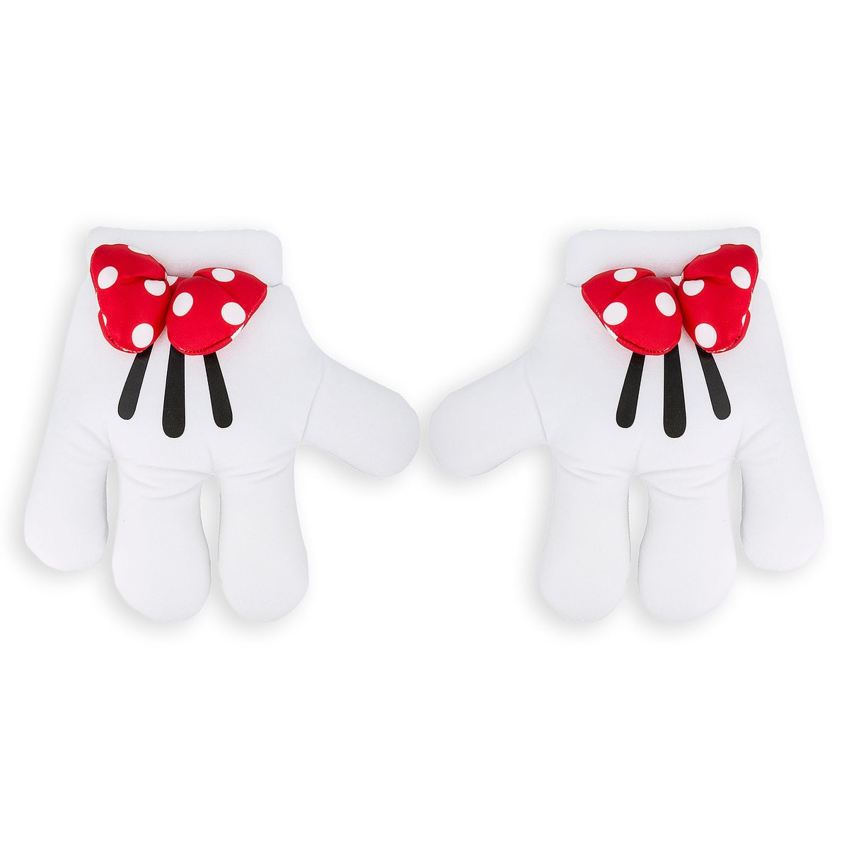 Minnie Moues plush gloves to wear for Disney dress up | Top 25 Disney Gift Ideas for Toddlers featured by top US Disney blogger, Marcie and the Mouse
