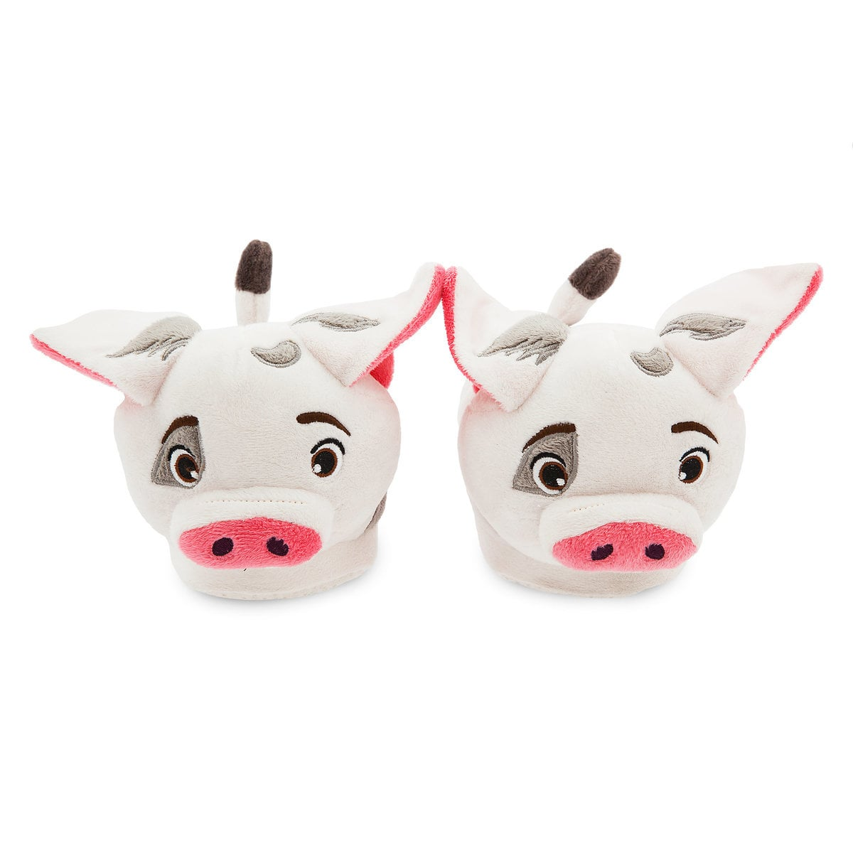 Get comfy with Moana slippers featuring Pua | Top 25 Disney Gift Ideas for Toddlers featured by top US Disney blogger, Marcie and the Mouse