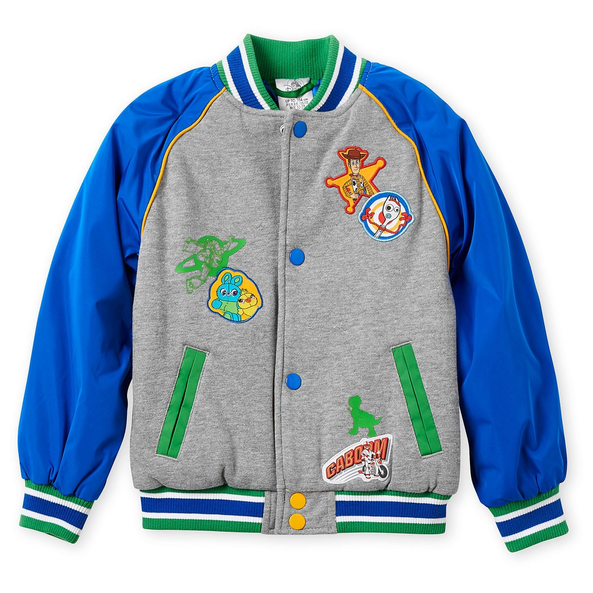This toddler Toy Story jacket is perfect for chilly weather | Top 25 Disney Gift Ideas for Toddlers featured by top US Disney blogger, Marcie and the Mouse