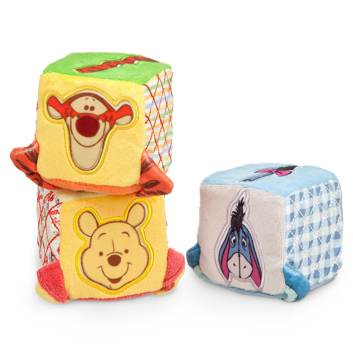 Top 25 Disney Gift Ideas for Babies featured by top US Disney blogger, Marcie and the Mouse: Winnie the Pooh blocks for babies