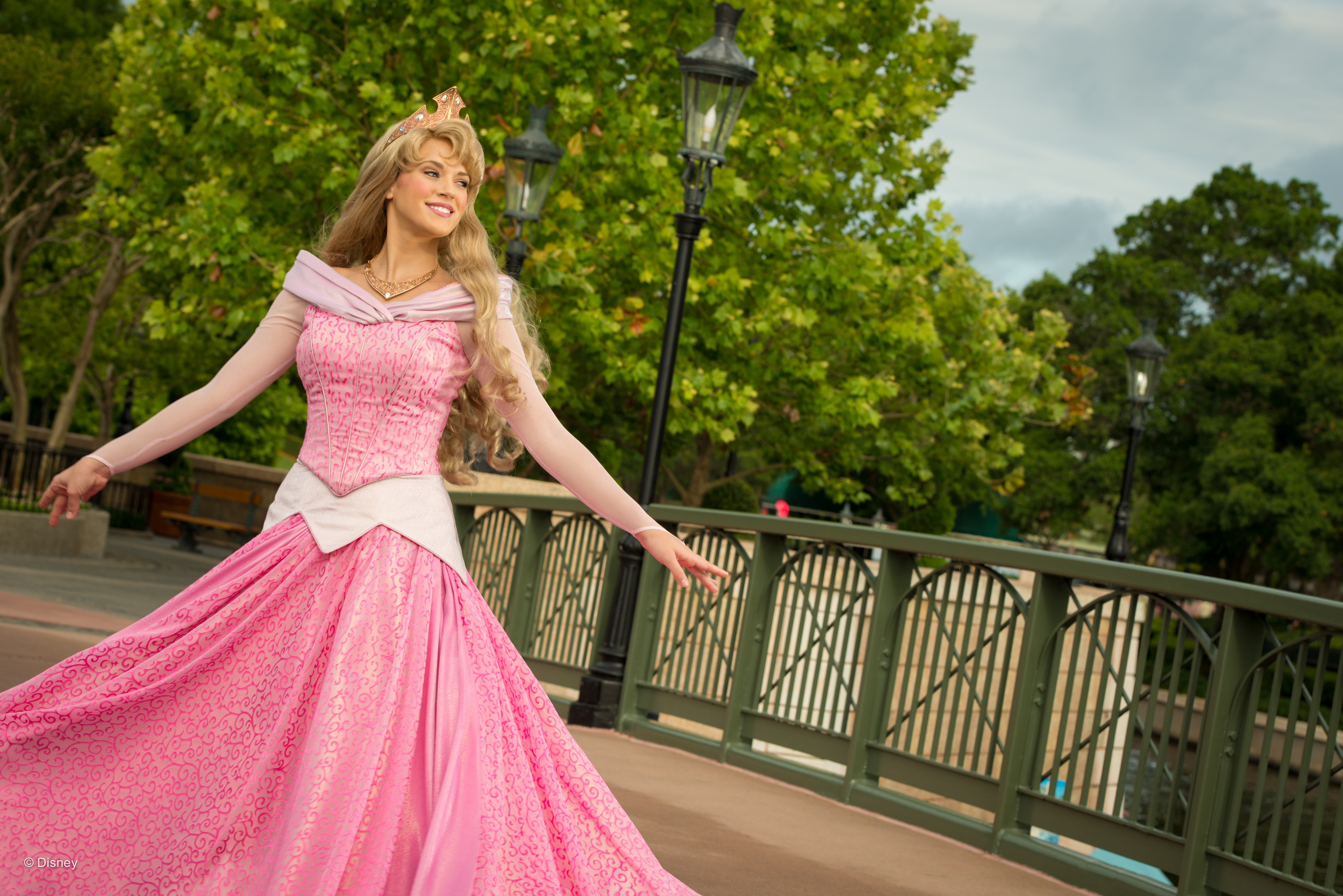 Where to Meet all the Walt Disney World Princesses, a guide featured by top US Disney blogger, Marcie and the Mouse: Families can meet Princess Aurora (also known as Sleeping Beauty) at Walt Disney World