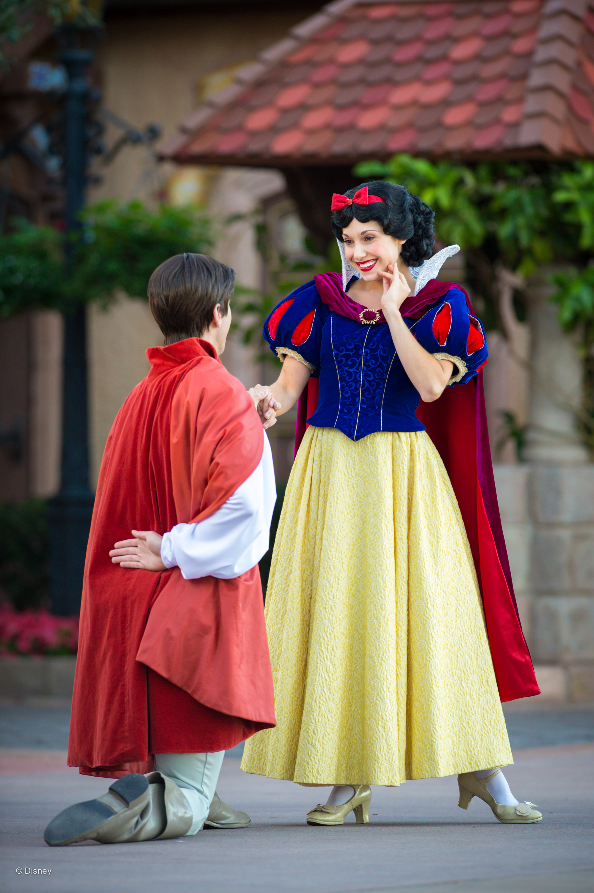 Where to Meet all the Walt Disney World Princesses, a guide featured by top US Disney blogger, Marcie and the Mouse: Snow White is the first Disney princess