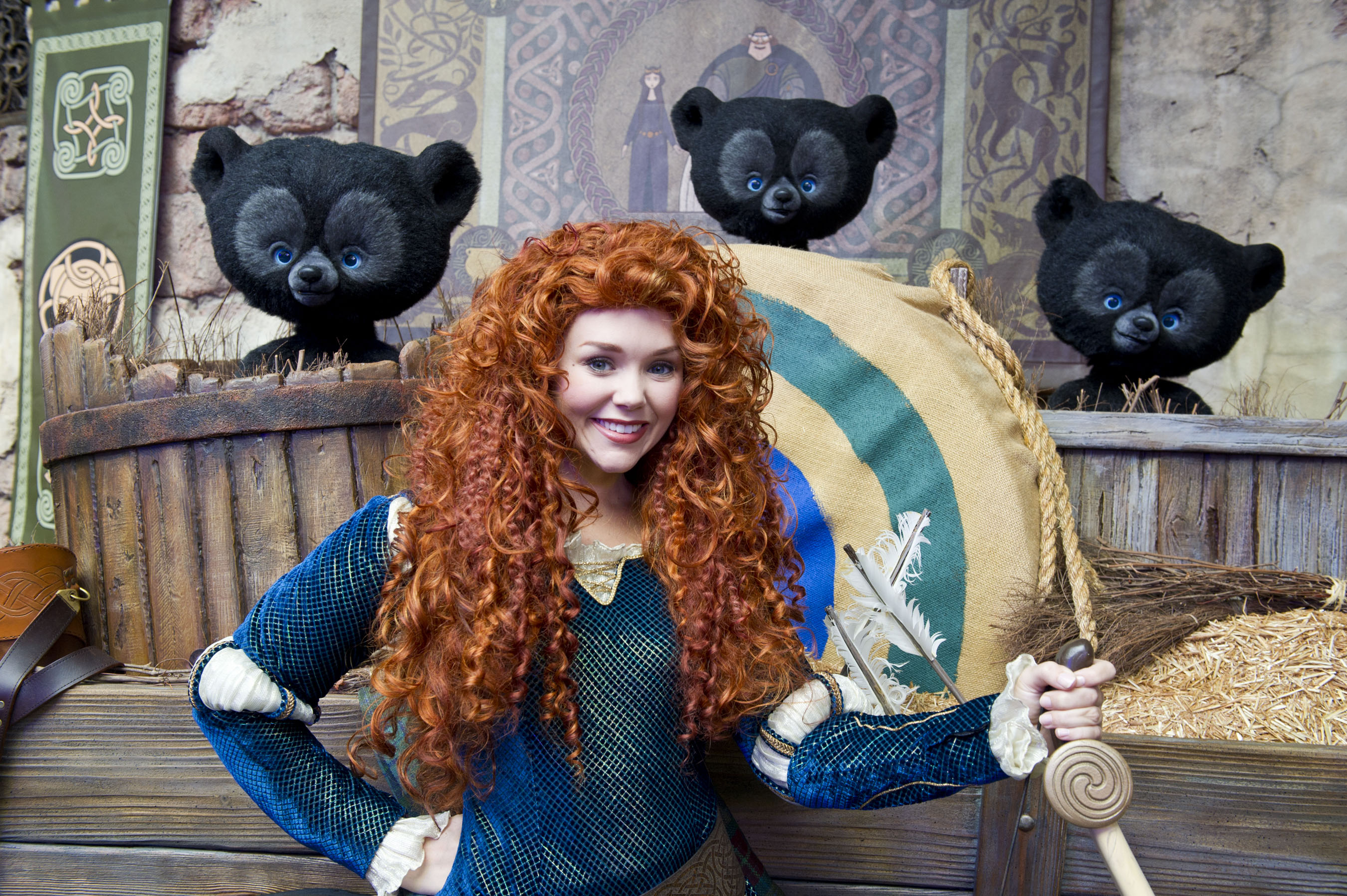Where to Meet all the Walt Disney World Princesses, a guide featured by top US Disney blogger, Marcie and the Mouse: Guests can meet Merida at Walt Disney World