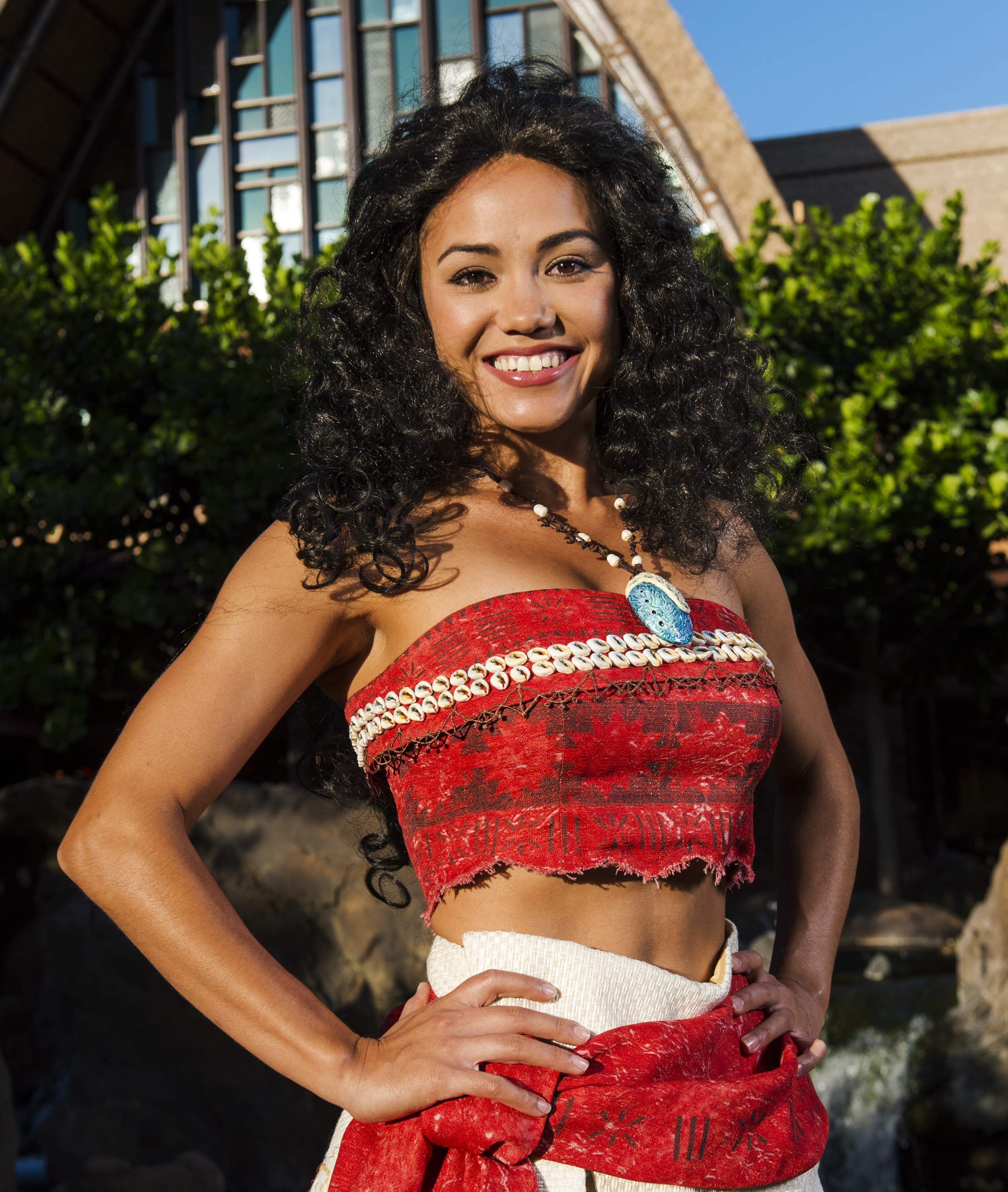 Where to Meet all the Walt Disney World Princesses, a guide featured by top US Disney blogger, Marcie and the Mouse: Moana is a rare Disney princess to see in the parks.