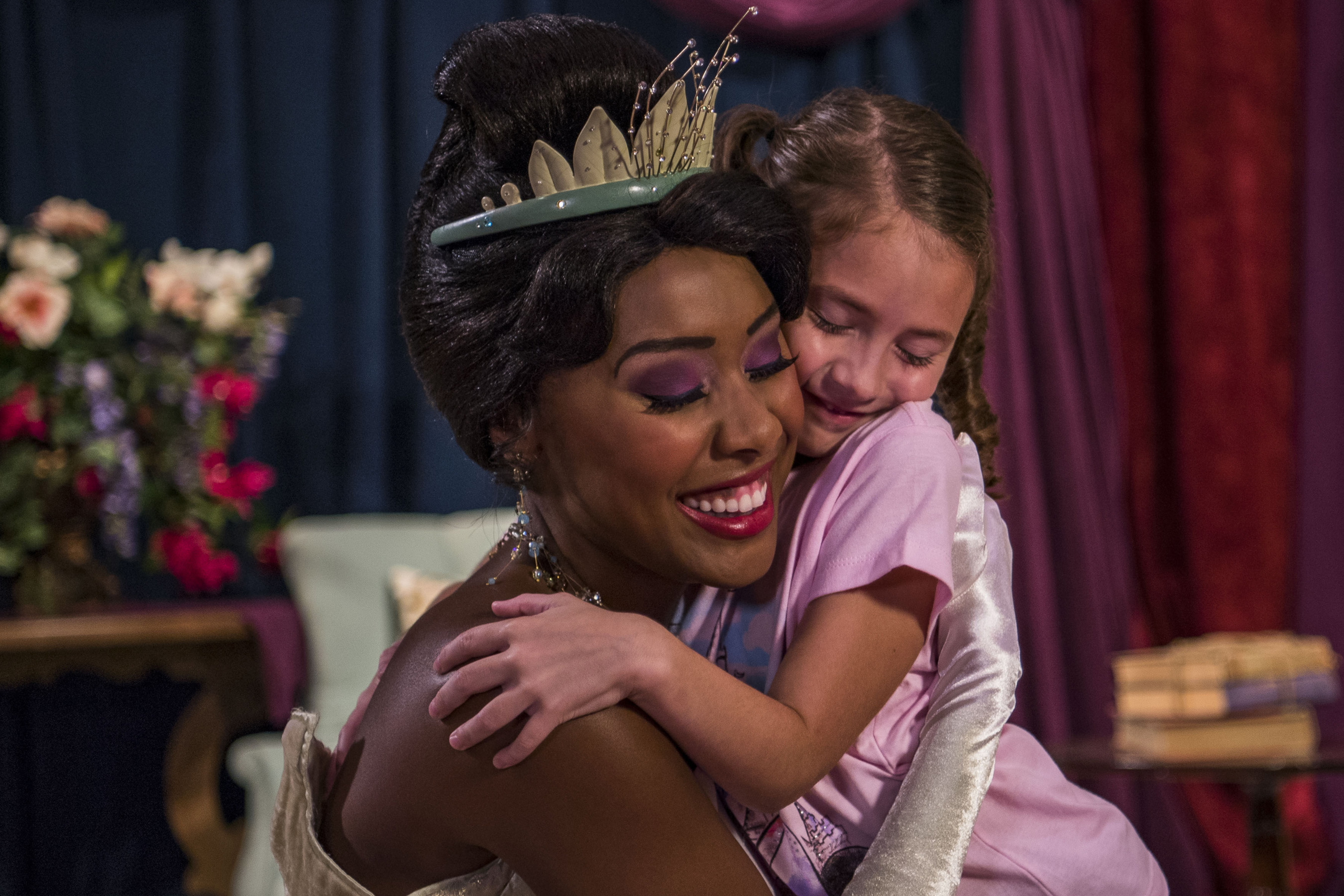 Where to Meet all the Walt Disney World Princesses, a guide featured by top US Disney blogger, Marcie and the Mouse: Kids can meet Princess Tiana at Walt Disney World