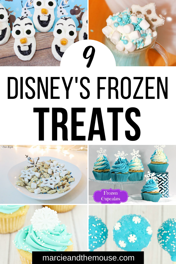 Disney Frozen Treats featured by top US Disney blogger, Marcie and the Mouse | Planning a Disney's Frozen party? Check out these Disney's Frozen treats perfect for your next Disney party.