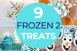 Disney Frozen Treats featured by top US Disney blogger, Marcie and the Mouse | Find out the cutest Disney's Frozen 2 Treats perfect for a Frozen party