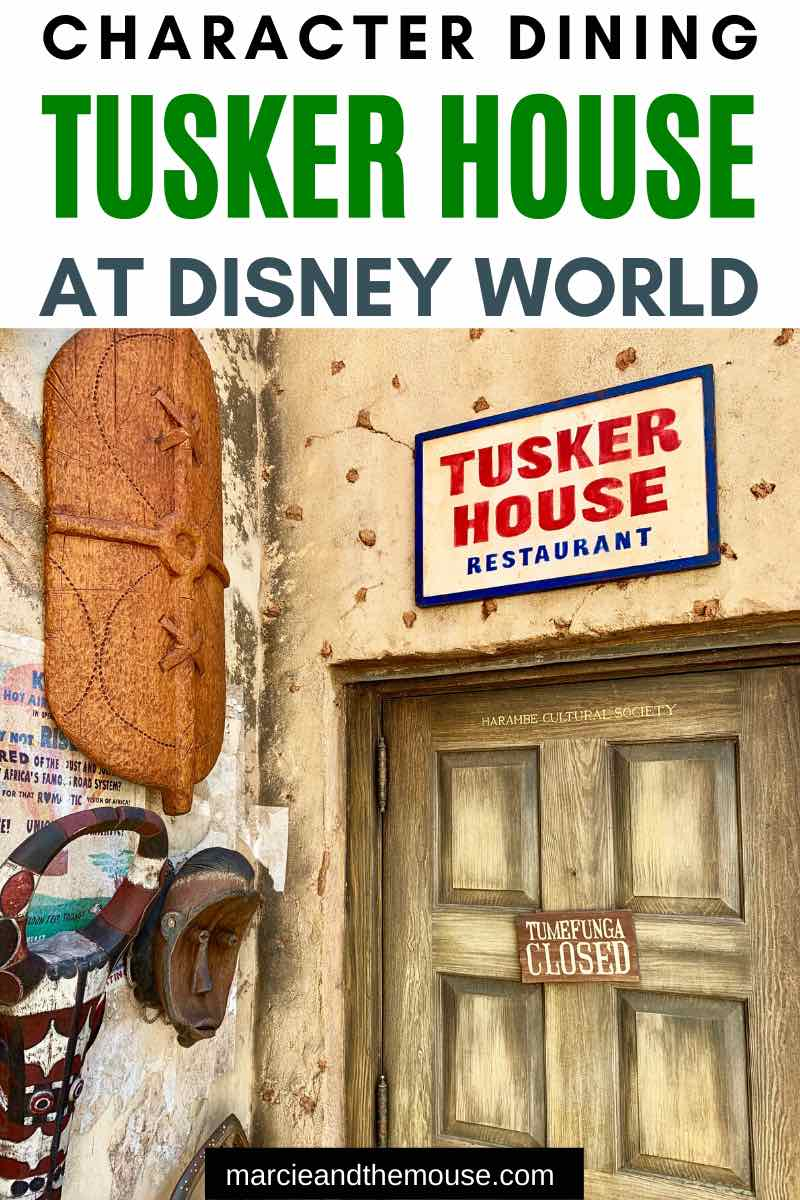 Heading to Disney's Animal Kingdom Park at Walt Disney World? Get my review of the Tusker House character breakfast, featuring Mickey Mouse, Goofy, Donald Duck, Daisy Duck and Minnie Mouse.