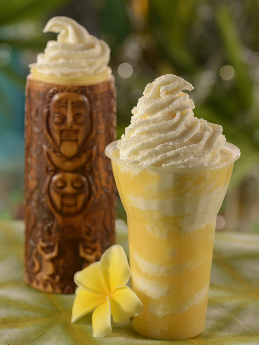 The Best Vegan Food at Walt Disney World featured by top US Disney blogger, Marcie and the Mouse | Dole Whip Float, Disney's Polynesian Resort, Pineapple Lanai, Walt Disney World