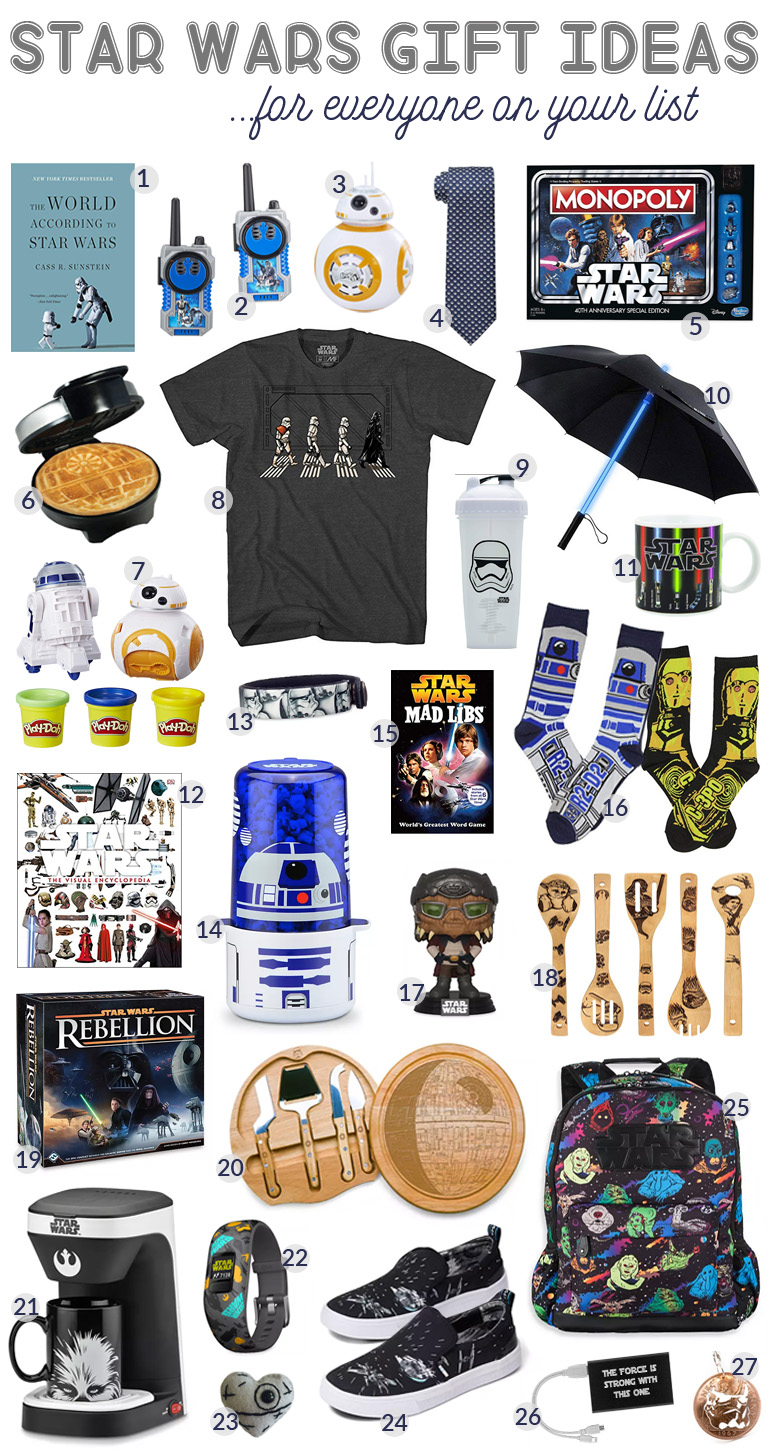 Best Star Wars Gift Ideas featured by top US Disney blogger, Marcie and the Mouse