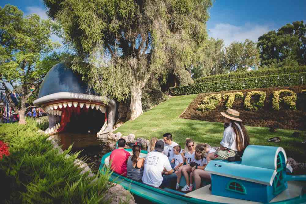 How Many Days Do you Need at Disneyland? Tips featured by top US Disney blogger, Marcie and the Mouse: Storybook Land Canal Boats is a popular Disneyland ride for babies and toddlers.