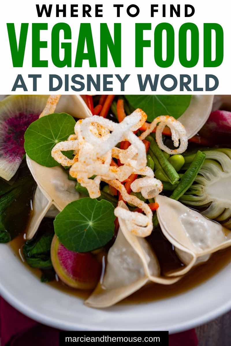 The Best Vegan Food at Walt Disney World featured by top US Disney blogger, Marcie and the Mouse | Looking for vegan restaurants at Walt Disney World? Find out the yummiest plant-based foods at Walt Disney World Resort.