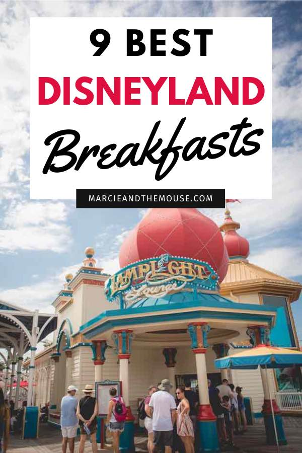 Best Disneyland breakfast featured by top US Disney blogger, Marcie and the Mouse