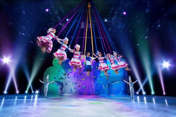 Disney on Ice: Mickey's Search Party show featured by top US Disney blogger, Marcie and the Mouse | Disney on Ice: Mickey's Search Party has a Beauty and the Beast performance