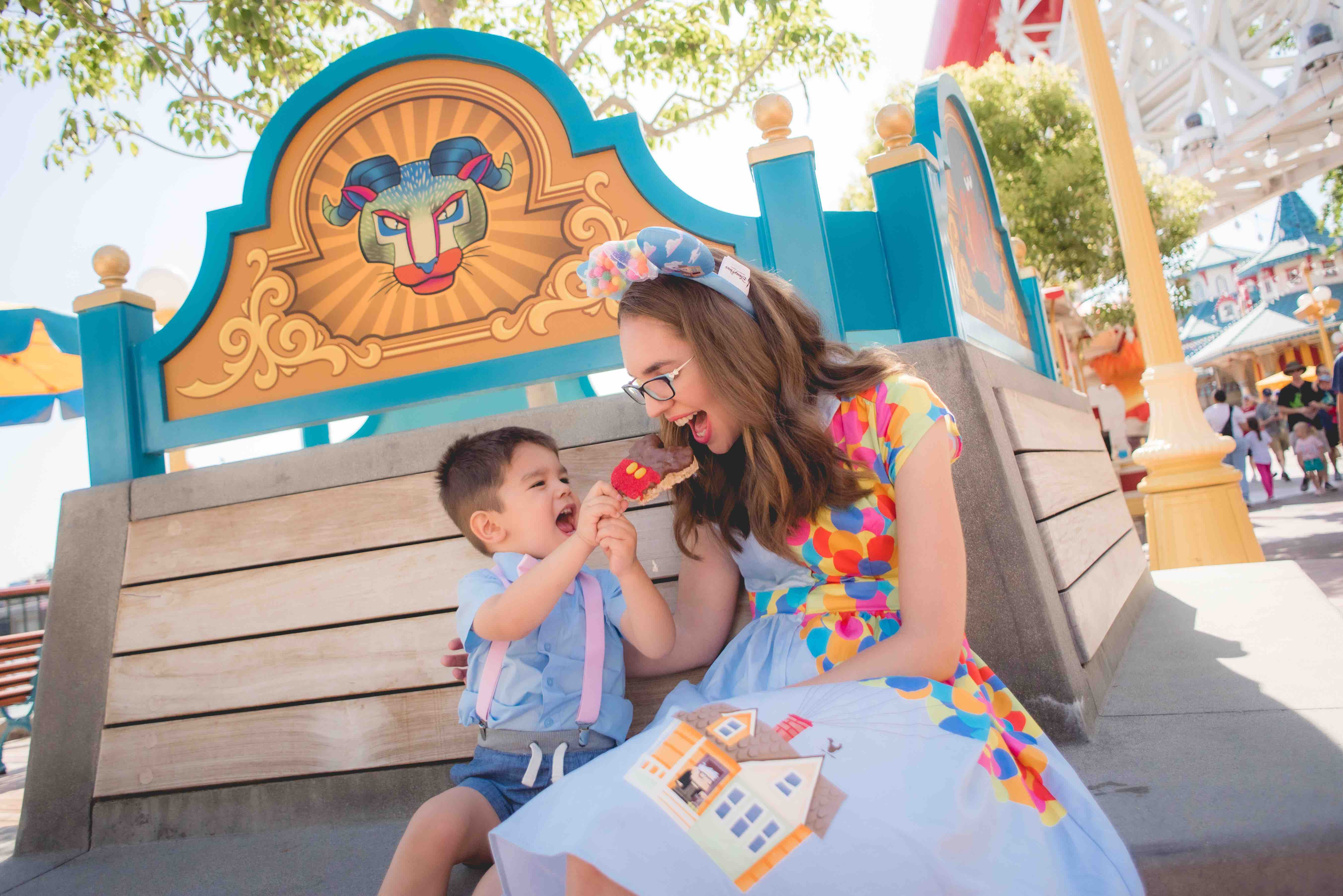 How to Do Disneyland with Toddlers, tips and itinerary featured by top US Disney blogger, Marcie and the Mouse | When doing Disneyland with a toddler, make sure to leave room for yummy Disney treats!