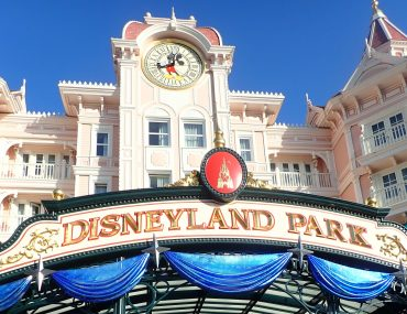 Disneyland Paris One Day Itinerary featured by top US Disney blogger, Marcie and the Mouse: Entrance to Disneyland Paris