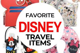 Best Disney Travel Bags & Accessories featured by top US Disney blogger, Marcie and the Mouse