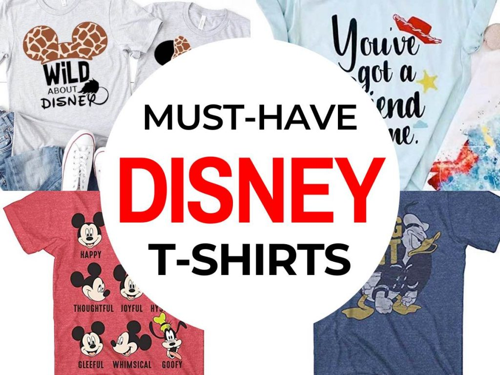Must have Disney T-Shirts featured by top US Disney blogger, Marcie and the Mouse