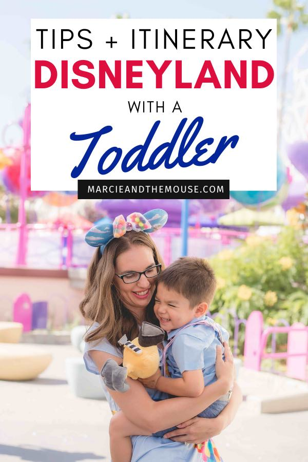 How to Do Disneyland with Toddlers, tips and itinerary featured by top US Disney blogger, Marcie and the Mouse | Planning a trip to Disneyland with a toddler? Find out my top Disneyland with toddlers tips plus a toddler-friendly Disneyland itinerary