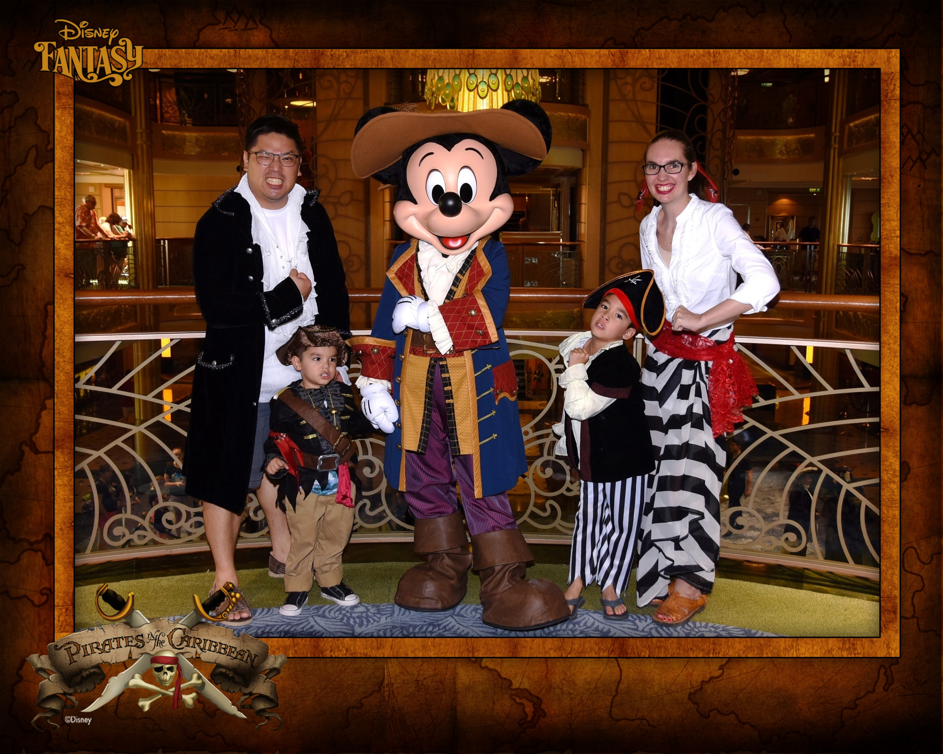 6 Experiences You MUST Have On your Disney Cruise with Kids featured by top US Disney blogger, Marcie and the Mouse: Pirate Night
