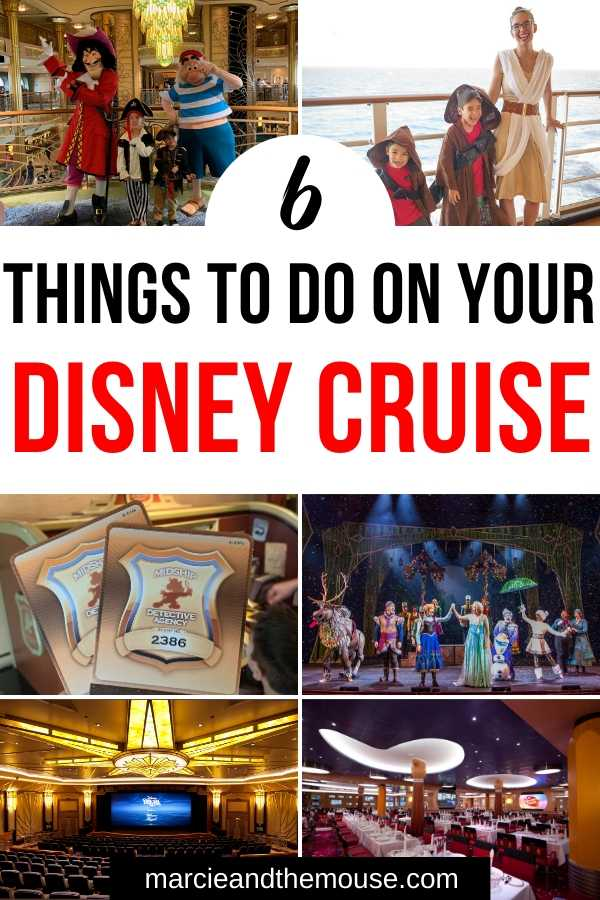 6 Experiences You MUST Have On your Disney Cruise with Kids featured by top US Disney blogger, Marcie and the Mouse.
