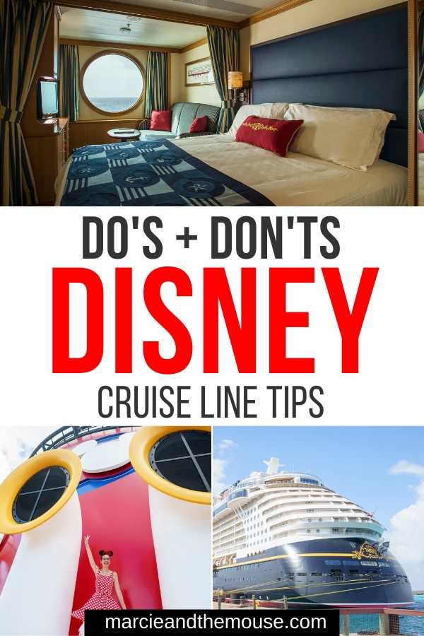 Disney Cruise Tips featured by top US Disney blogger, Marcie and the Mouse