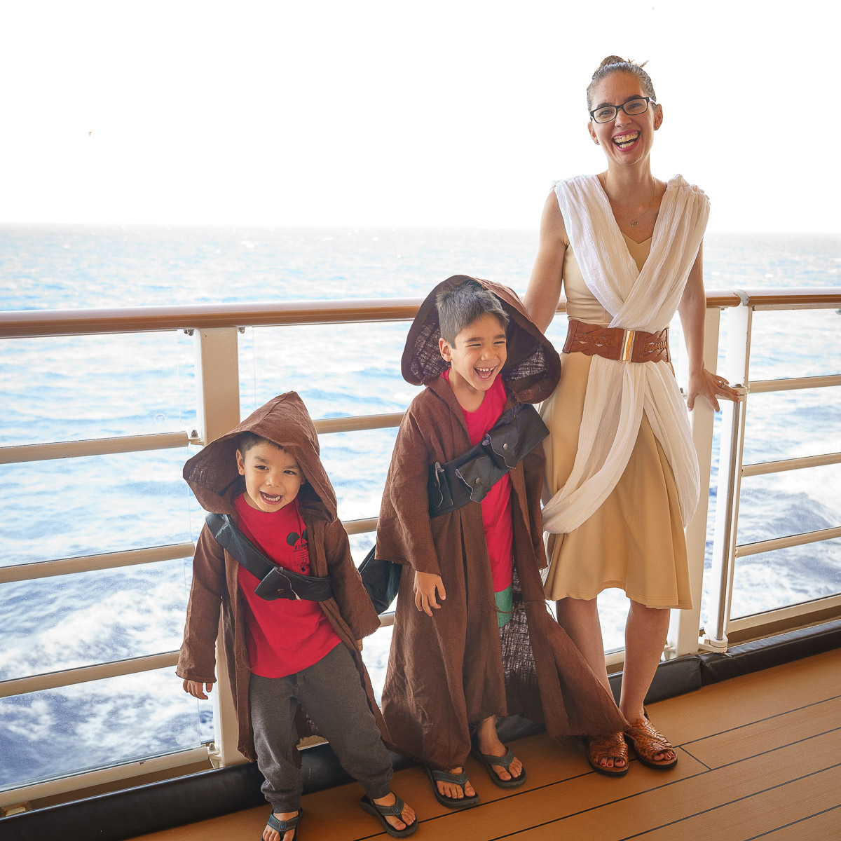Disney Cruise Tips featured by top US Disney blogger, Marcie and the Mouse: Disney Cruise Line, Star Wars Day at Sea, Jawa and Rey costumes