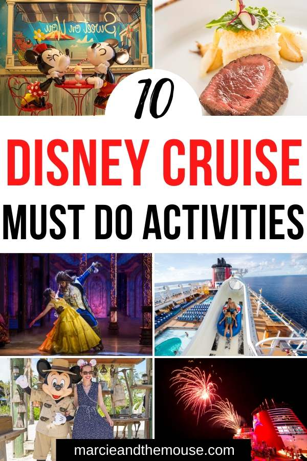 Top 10 Things to Do on Disney Fantasy featured by top US Disney blogger, Marcie and the Mouse