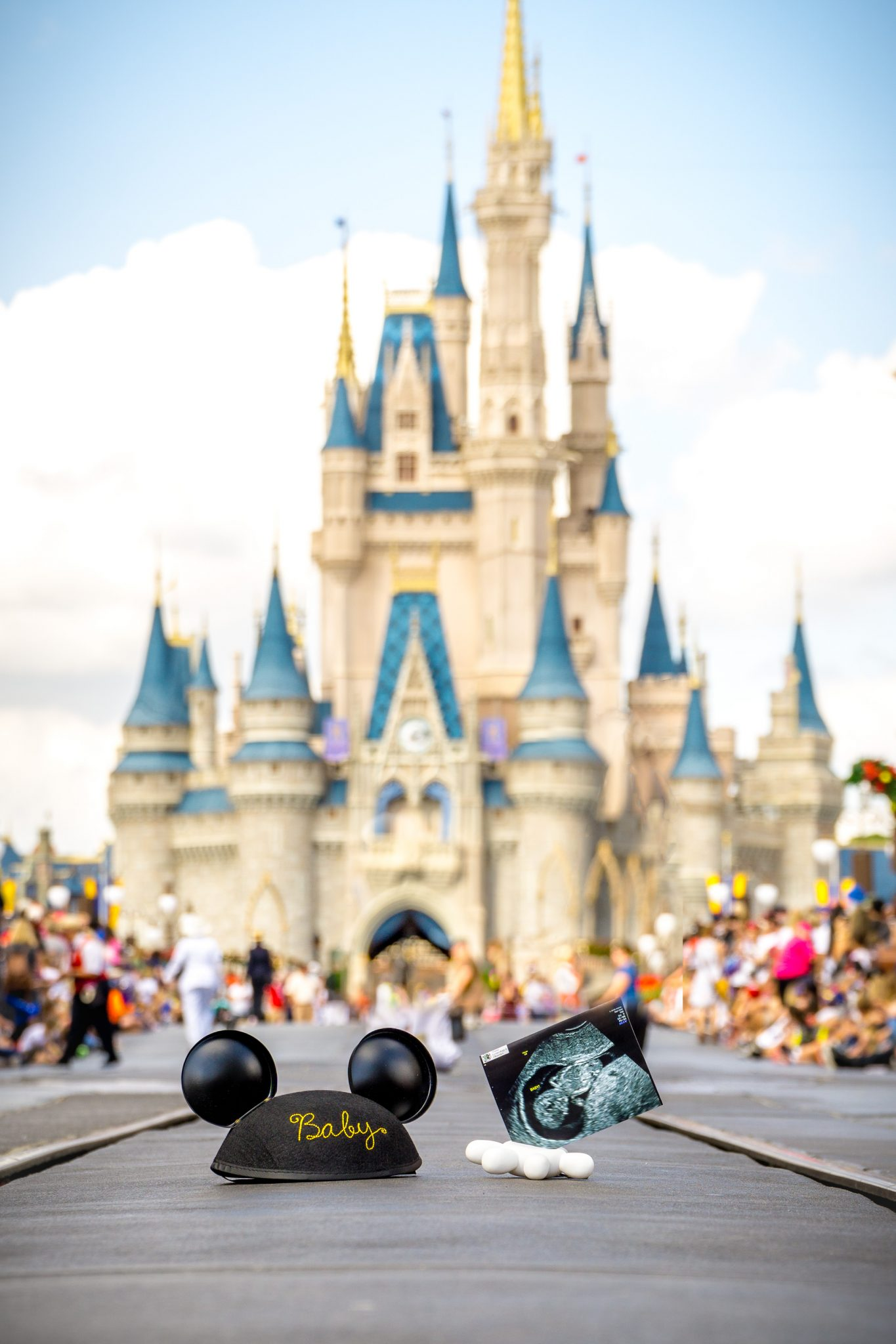 Walt Disney World While Pregnant featured by top US Disney blogger, Marcie and the Mouse | Disney World pregnancy announcement