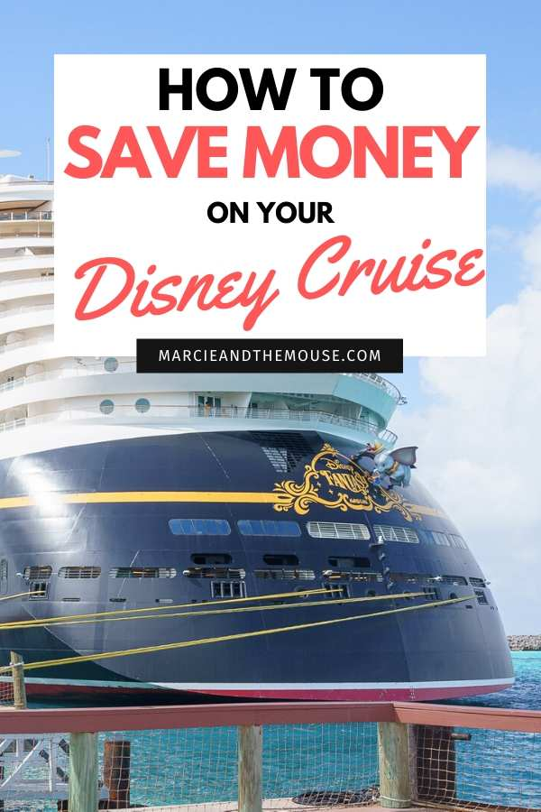 How to Save Money on Disney Cruise Line: Top 10 Money Saving Tips featured by top US Disney blogger, Marcie and the Mouse