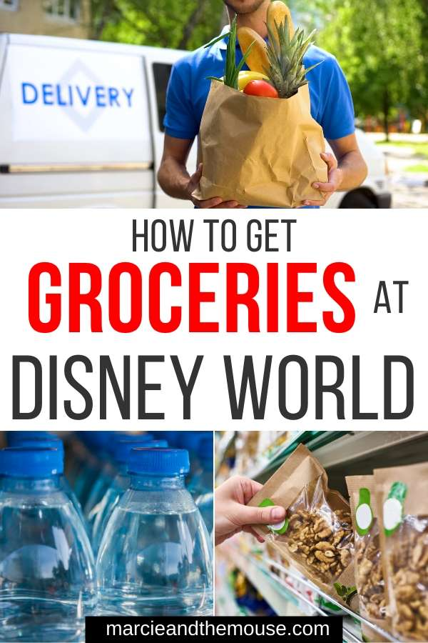 How to Get Groceries at Disney World, tips featured by top US Disney blogger, Marcie and the Mouse.