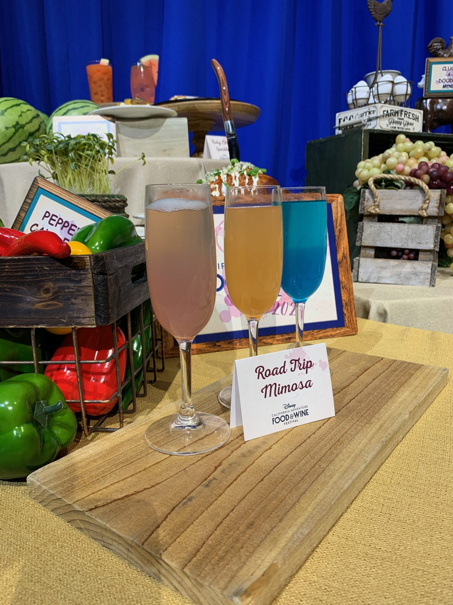 2020 Disney California Adventure Food & Wine Festival guide featured by top US Disney blogger, Marcie and the Mouse: Mimosa Flight