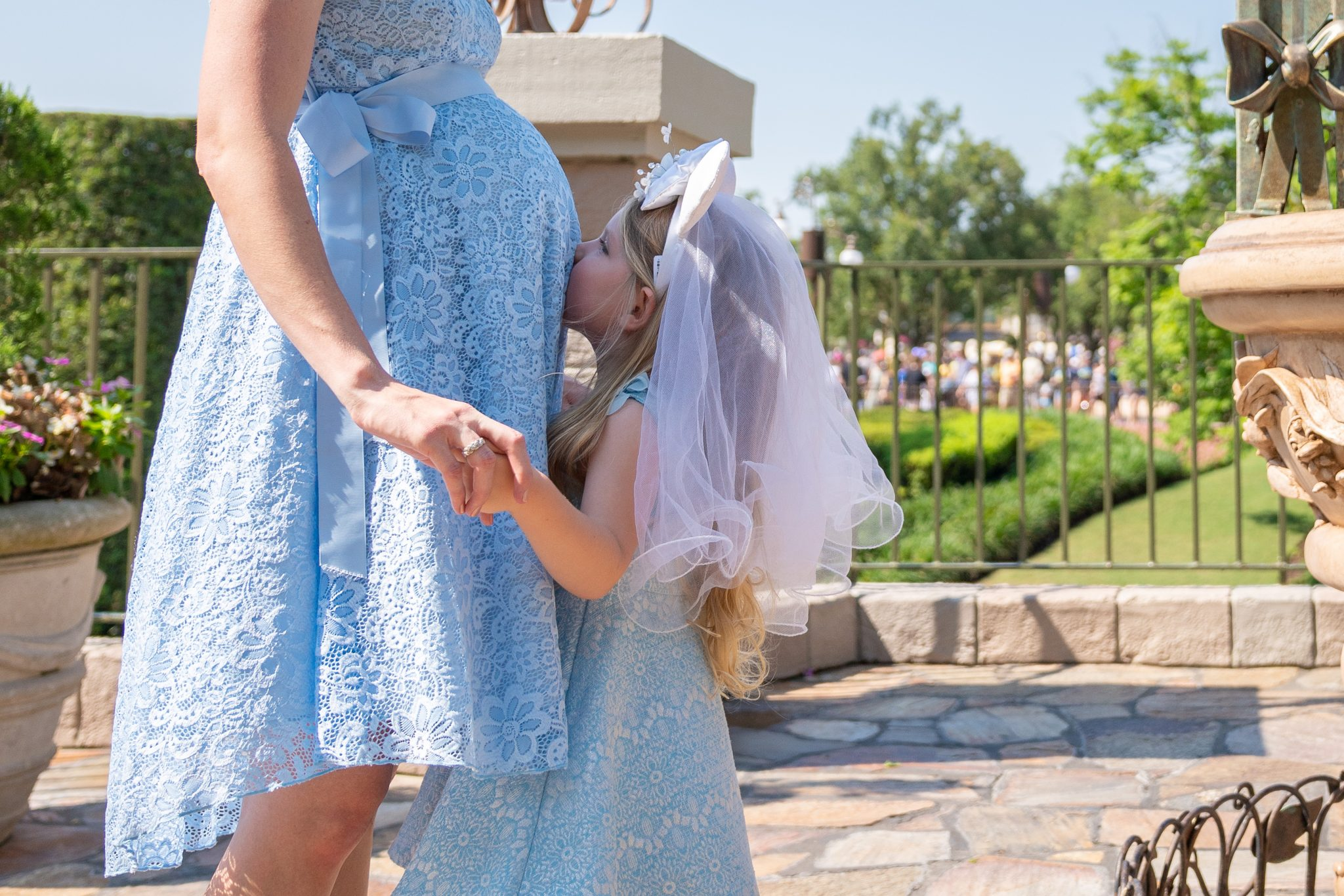 Walt Disney World While Pregnant featured by top US Disney blogger, Marcie and the Mouse | Maternity photo shoot at Walt Disney World