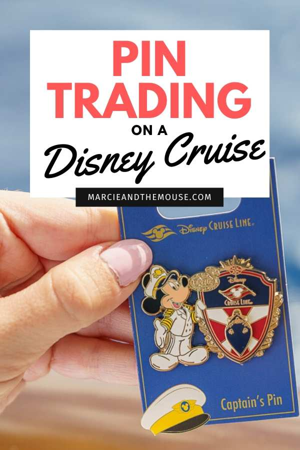 Pin Trading on Disney Cruise: 5 Top Tips featured by top US Disney blogger, Marcie and the Mouse