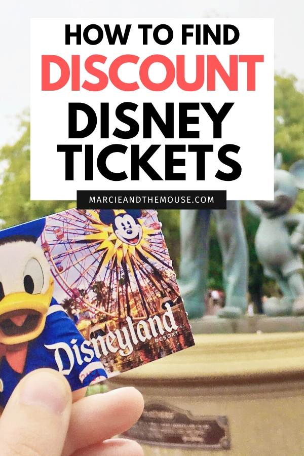 How to find Discount Disney Tickets, info featured by top US Disney blogger, Marcie and the Mouse.