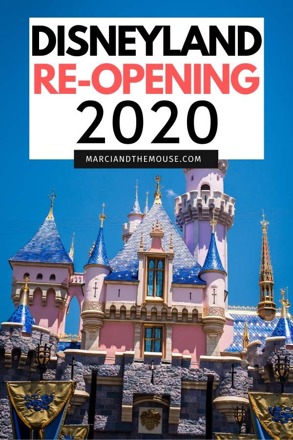 Disneyland reopening in July 2020