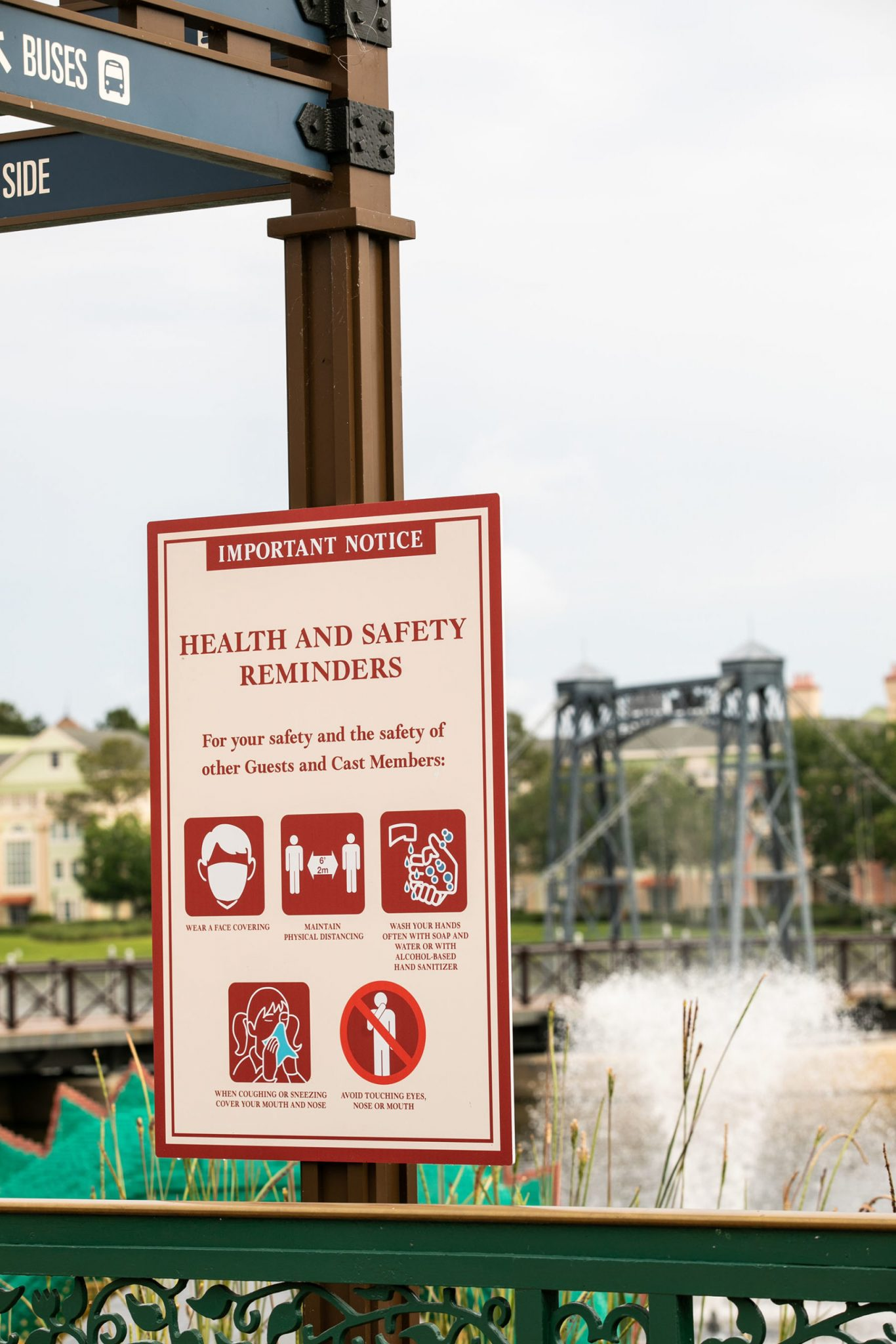 Walter Disney World and COVID-19: How to Stay Safe When Visiting Disney World When They Open the Park (Which Is Happening Really Soon!) featured by top US Disney blogger, Marcie and the Mouse